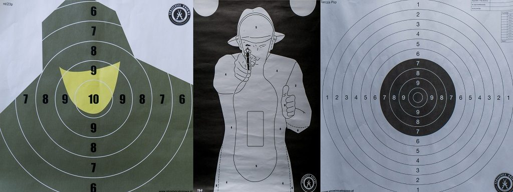 3 kinds of target Shooting Range
